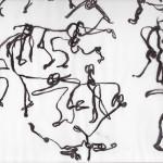 Nullpunkt - Sophiensaele Berlin - Zeichnung: Marianne Heide